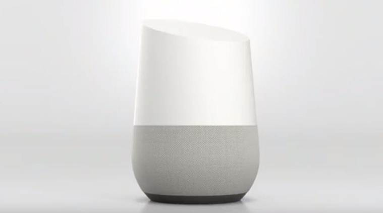 Google Home, the new smart home speaker comes with Google Assistant built in (Source: Google)