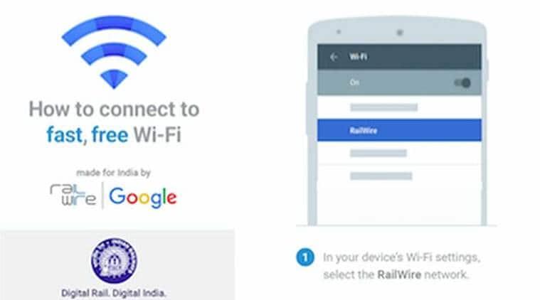 Google Wifi, Google Internet, Google India, Free WiFi service, Railtel, Railwire, Suresh Prabhu, Indian Railways, Technology, Tech News