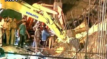 guntur, landslip, guntur landslip, guntur wall collapse, guntur workers, guntur workers dead, guntur construction site collapse, construction site guntur, guntur accident, andhra pradesh, india news