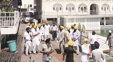 Amritsar: Fire at SGPC press, 5 birs  of Guru Granth Sahib destroyed