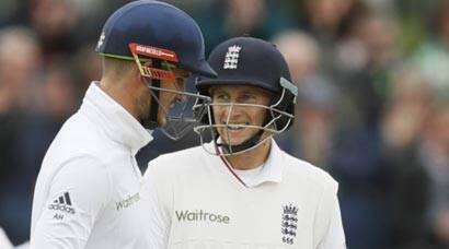 Alex Hales, Joe Root fifties help England post 310/6 against Sri Lanka on Day 1