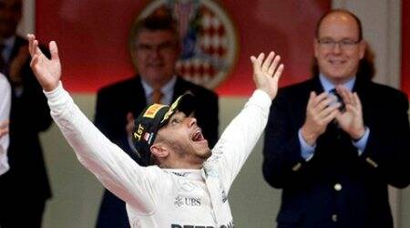 Lewis Hamilton thanks Nico Rosberg for 'gentlemanly gesture' at Monaco GP