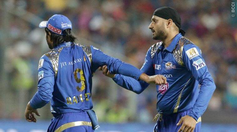 Harbhajan, Rayudu engage in on-field spat during IPL clash