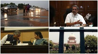 narendra modi, delhi rain, delhi temperature, delhi weather, delhi flights diverted, african nationals attacked, sushma swaraj, vk singh, supreme court, sc judges appointments, manohar parrikar, defence ministry, india news, world news, top headlines, top stories, latest news, latest news updates,