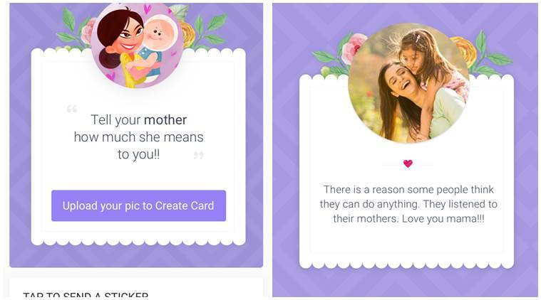 hike mother s day microapp lets users send stickers cards to moms