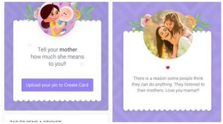 Hike Mother's Day microapp lets users send stickers, cards to moms