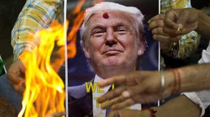donald trump, hindu sena, trump, hindu sena, hindu sena trump, sena trump aarti, trump india, india trump, donald trump india, indians donald trump, india news