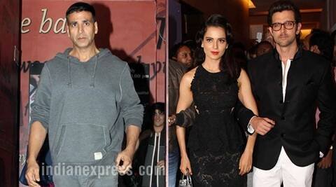 Hrithik, Hrithik Roshan, Hrithik Kangana, Kangana Ranaut, Kangana Hrithik, Akshay Kumar, Hrithik Roshan News, Kangana Ranaut news, Hrithik Kangana News, Entertainment news, Hrithik roshan Latest news, Hrithik Kangana Latest News