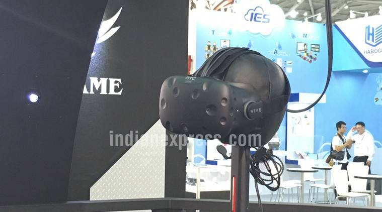 HTC Vive was also on display during the conference, including at the Microsoft booth where interested users could try out a different and more engaging gaming experience