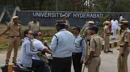 University of Hyderabad: Students directed to remove tents from campus protest site