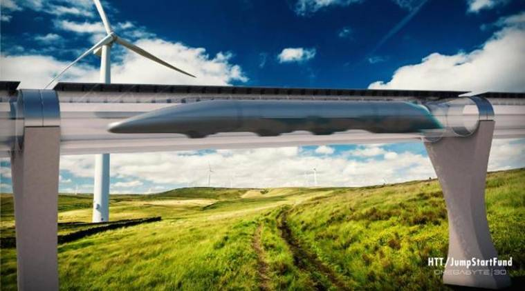 Hyperloop One is a vision to send pods holding passengers and cargo inside giant vacuum tubes between Los Angeles and San Francisco