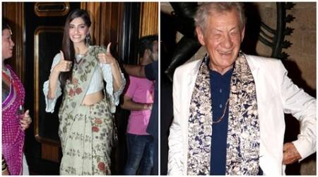 Sonam Kapoor, Ian McKellen, Kashish Film Festival, Kashish Film Festival NEWS, SIR Ian McKellen SONAM, Sonam Kapoor NEWS, entertainment news