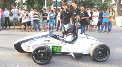 iit bombay, iit b, fastest car india, electric race car, electric race car orca, education news