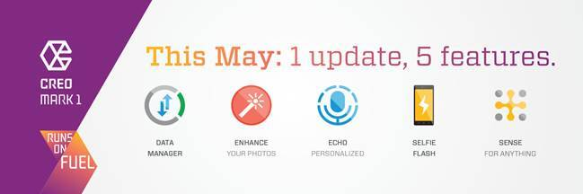 Creo, Creo mark 1, Creo update, Creo first update, Creo Fuel OS update, Creo monthly update, Creo update features, Creo mark 1 new features, Creo Mark 1 price, Creo mark 1 features, Creo mark 1 specs, smartphones, Android, technology, technology news