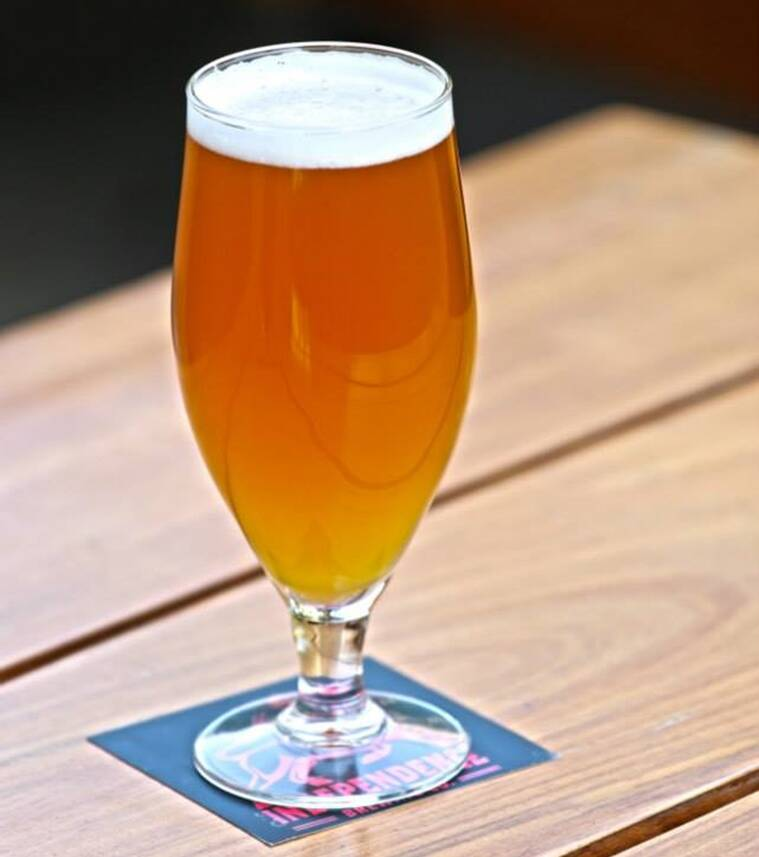 The Four-Grain Saison marries barley, wheat, oats and rye, and is one of the best summer beers around.