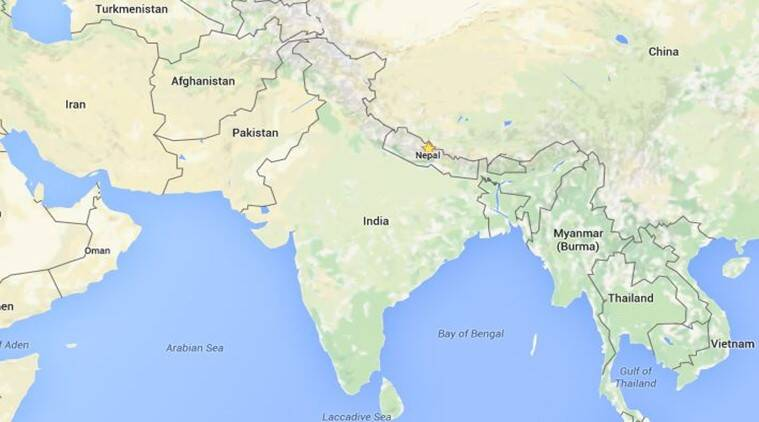 JK On Map Pakistan Objects India Rejects Concern The Indian - World map pakistan