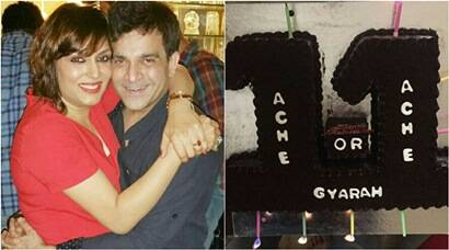 TV actors Anjali Mukhi And Indraneel Bhattacharya Celebrate '11 years of togetherness'