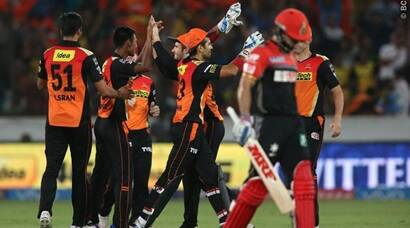 IPL 2016, SRH vs RCB: Sunrisers Hyderabad register win at home