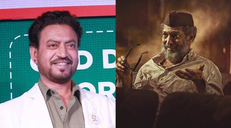 Natsamrat, Nana Patekar, Natsamrat movie, Natsamrat Nana Patekar, Irrfan khan, Irrfan Nana, Irrfan, Nana patekar movie, natsamrat marathi movie, National award, Entertainment news