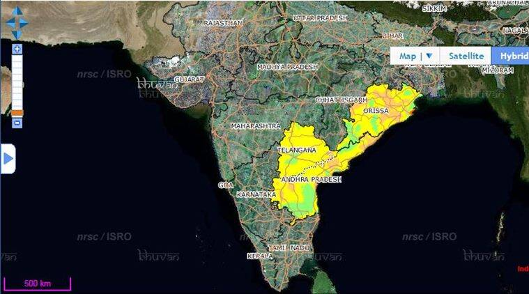 This is how isro is mapping the heatwave in south india the indian heat wave heat wave india heat wave telangana heat wave odisha heat gumiabroncs Choice Image