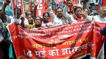 Jharkhand domicile issue: MP, MLAs among 9,000 detained duringbandh