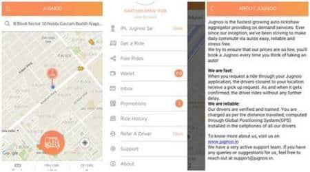 Now book Jugnoo autorickshaws viaHelpchat