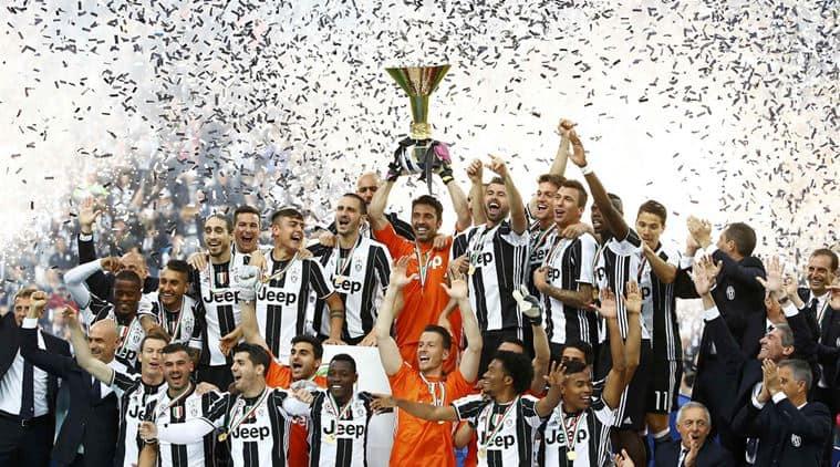 Juventus, Juve, Juventus Serie A, Serie A, Serie A title, Juventus vs Sampdoria , Sampdoria vs Juventus, Massimiliano Allegri, Allegri, Football