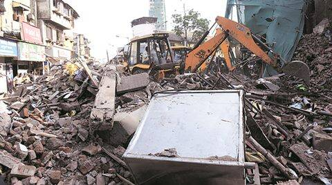 kamathipura, kamathipura building, kamathipura building collapse, MHADA, kamathipura collapse inquiry, indian express mumbai