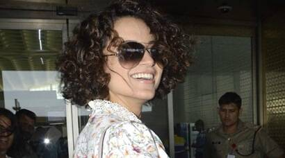 Kangana Ranaut leaves for Delhi to receive National Award, see pics
