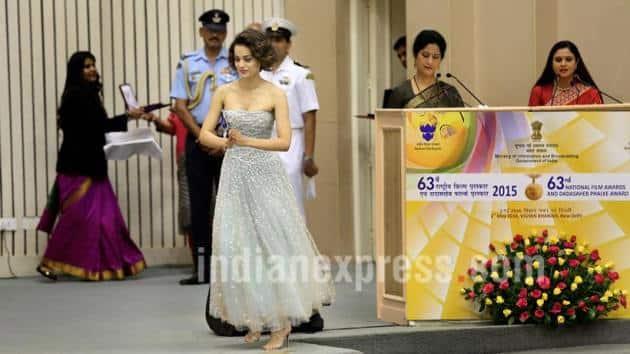Kangana Ranaut, Kangana Ranaut National Awards
