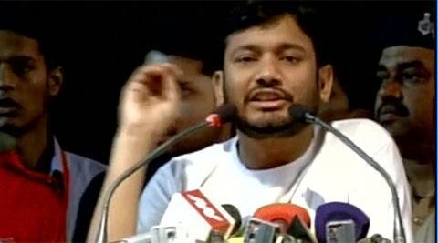 Kanhaiya Kumar, Kanhaiya Kumar hunger strike, hunger strike, Kanhaiya Kumar hospitalised, hospitalised, AIIMS, Kanhaiya Kumar AIIMS, JNU, JNU news, delhi news, india news
