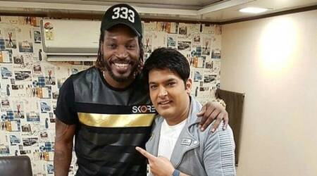 Kapil Sharma, chris Gayle, Kapil Sharma Show, Kapil Sharma Chris Gayle, Kapil Chris Gayle, the Kapil sharma Show, Kapil Show, Entertainment news