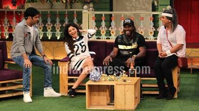 Kapil Sharma takes Chris Gayle, Mika Singh, Kanika Kapoor on a laughter ride