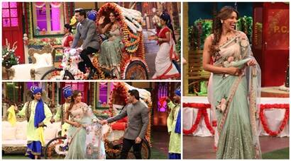 Bipasha Basu, Karan Singh Grover's first public appearance post marriage on The Kapil Sharma Show; see pics