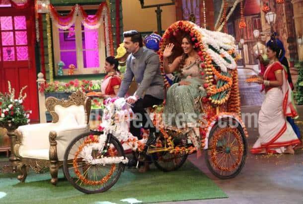 Bipasha, Karan Singh Grover, Kapil Sharma, the kapil sharma show