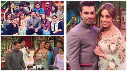 Karan Singh Grover, Bipasha Basu's fun moments on The Kapil Sharma Show