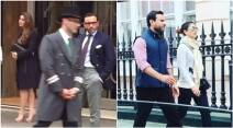 kareena kapoor, saif ali khan, kareena pics, kareena saif pics, kareena london pics, saif ali khan london pics, kareena saif london pics, kareena kapoor saif ali khan, kareena photos, kareena husband photos, kareena saif photos, entertainment news, entertainment