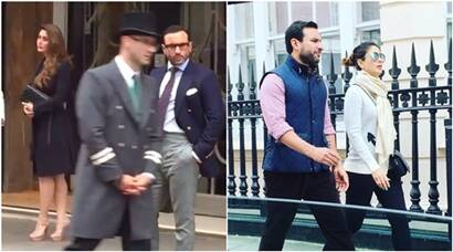 Kareena Kapoor, Saif Ali Khan holiday in London; see pics