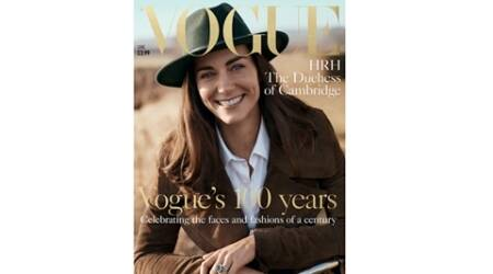 Cover star: Duchess Kate Middleton poses for British edition of Vogue