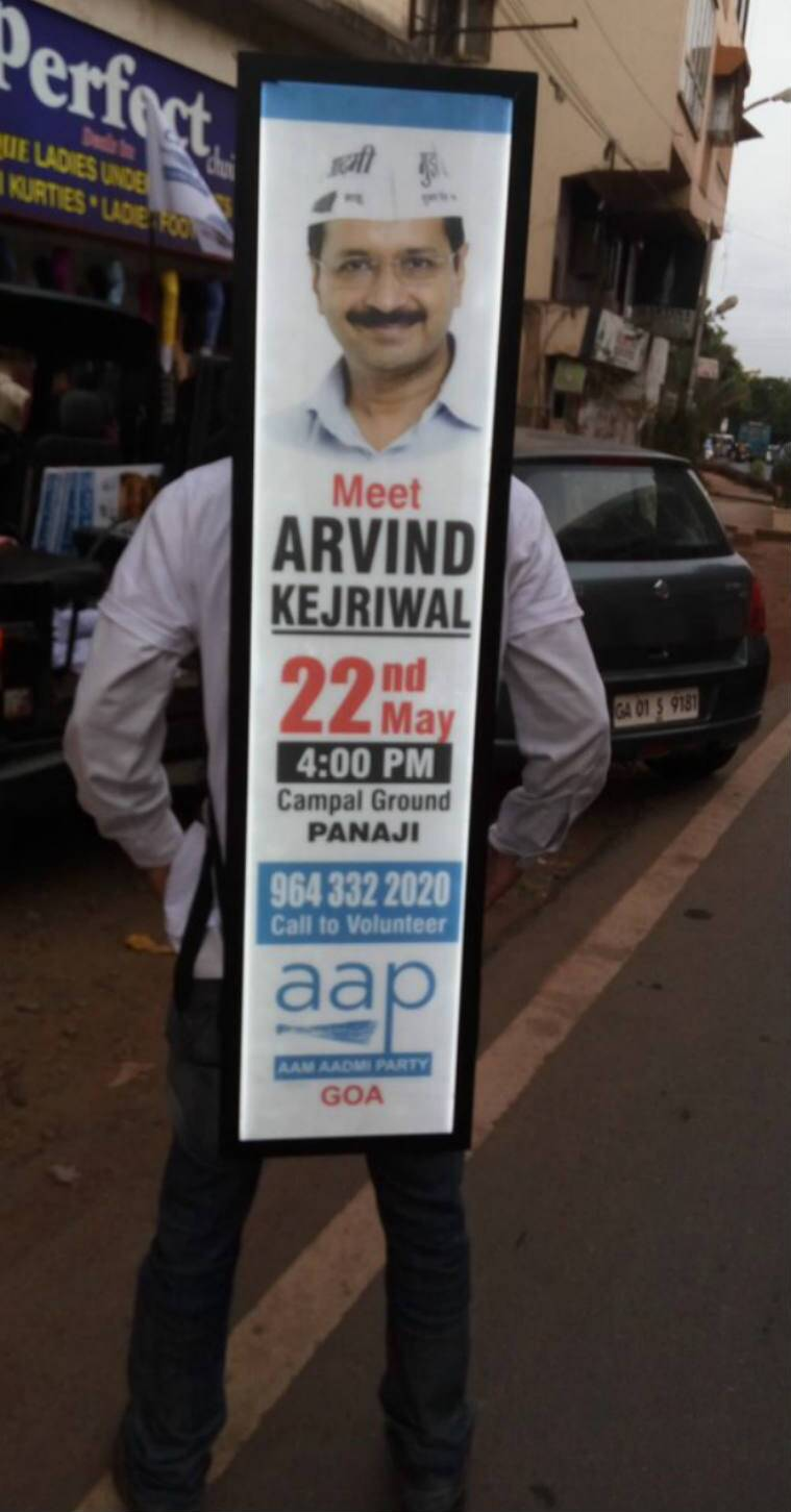 AAP, Arvind Kejriwal, Kejriwal Goa rally, aam aadmi party, aap goa news, goa, goa aap, aap in goa, aam aadmi party