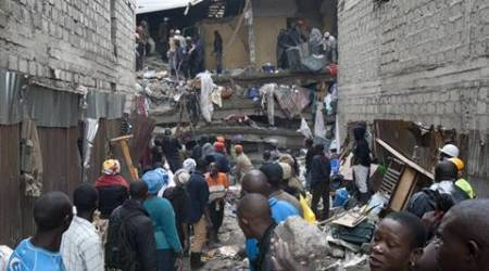 Kenya: 1-year-old girl miraculously survives building collapse, pulled out after 72hrs