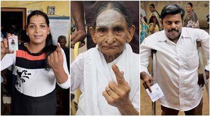 Voting in Tamil Nadu, Kerala ends