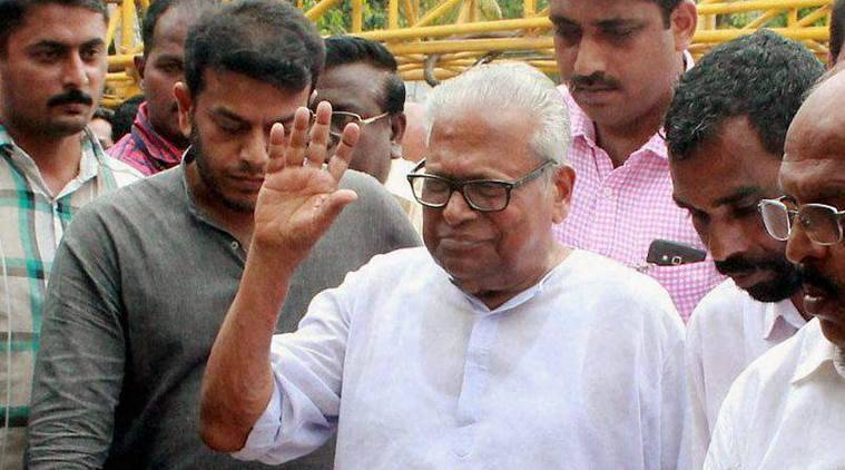 VS Achuthanandan, CPM, Thomas Chandy, Thomas chandy encroachment charges, LDF, UDF, pinarayi vijayan, kerala politics, indian express