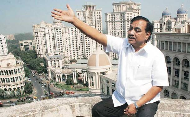 eknath khadse, land scam, pune land scam, MIDC, revenue minister, subhash desai, family of eknath khadse, khadse family, shiv sena, indian express news, india news, latest news, khadse news