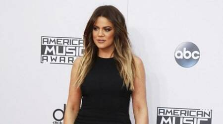 Khloe Kardashian quivers during the show