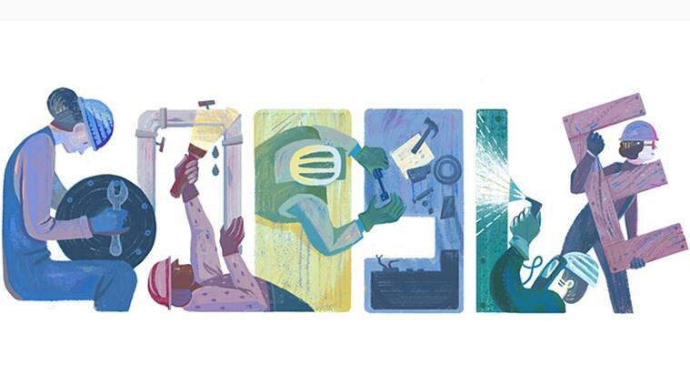 Labour Day, Labour Day 2016, Google doodle, Google doodle Labour Day 2016, International Worker's Day, May Day, eight hour day, employee perks, eight-hour work day, Reasonable wages, breaks, paid vacation, Antarrashtriya Shramik Diwas, Kamgar Din,
