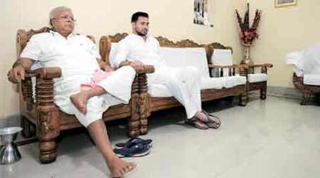 Why in working formula, Lalu Yadav is stay-at-home dad in Patna