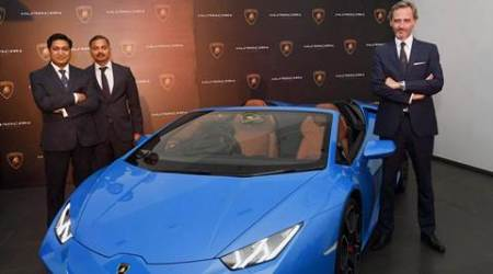 Lamborghini rolls out new Huracan Spyder in India, fixes price at Rs 3.89crore