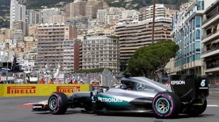 Monaco GP: Lewis Hamilton fastest ahead of Nico Rosberg in first practice