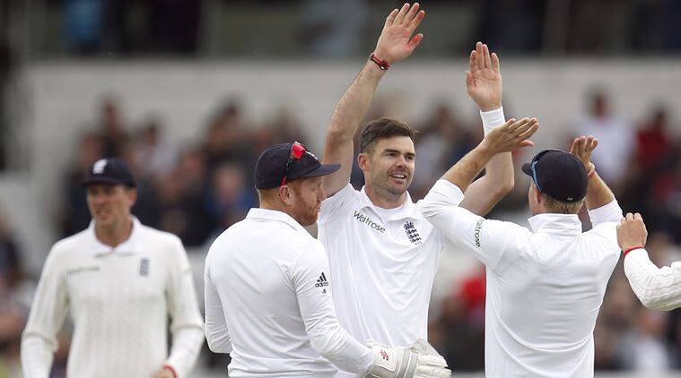 Cricket score eng vs sl test 1 day 3 james anderson picked up five
